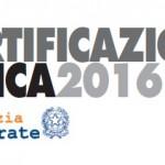 E' stato pubblicato il nuovo modello 2016 di Certificazione unica