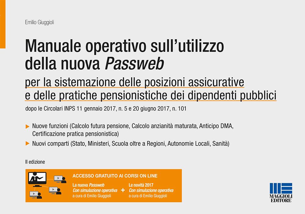 Manuale operativo sull'utilizzo della nuova Passweb