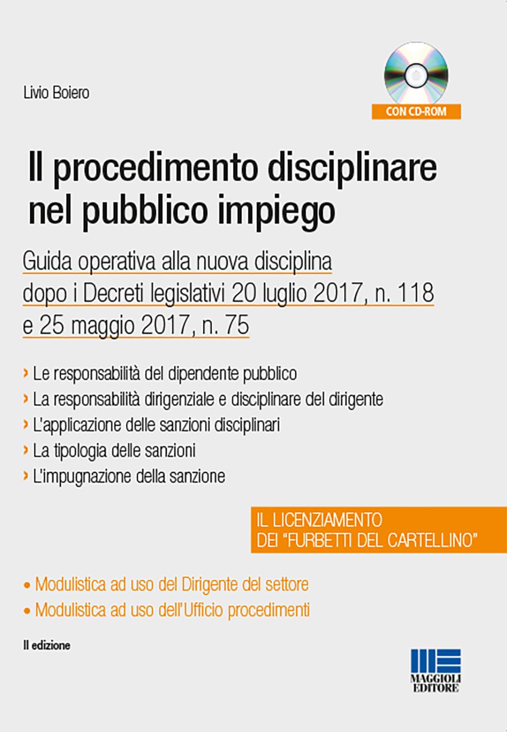 Il procedimento disciplinare nel pubblico impiego