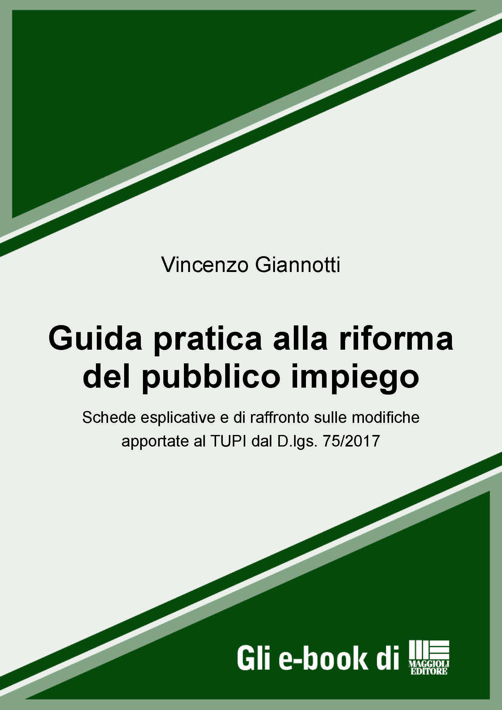 Guida pratica alla riforma del pubblico impiego